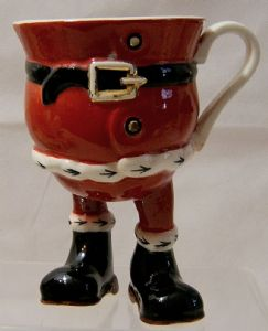 Carlton Ware Walking Ware Santa Claus Standing Cup - 1980 - SOLD